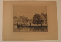 Gezicht op de Zevenhuizen en Maarland ZZ te Brielle (Collectie Historisch Museum Den Briel; inv nr: 3873)