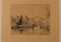 De Rode Brug (Zevenhuizen) Maarland ZZ (Collectie Historisch Museum Den Briel; inv nr 4006)