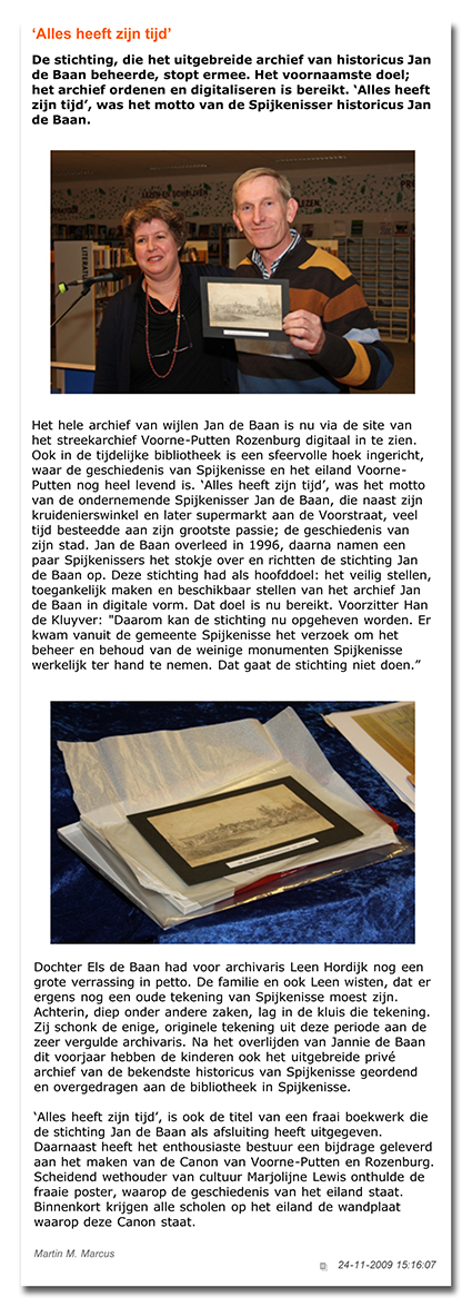 SpijkeNieuws.nl, het nieuws voor Spijkenisse e.o. - ÔAlles heeft