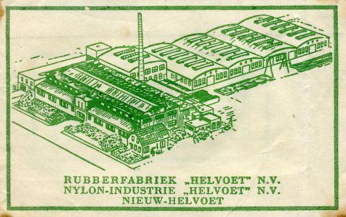 Het suikerzakje van de rubberfabriek